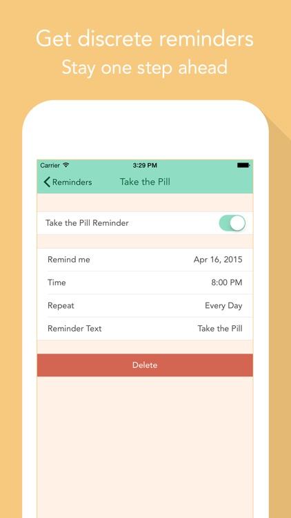 Cycles – Period & PMS Tracker screenshot-3