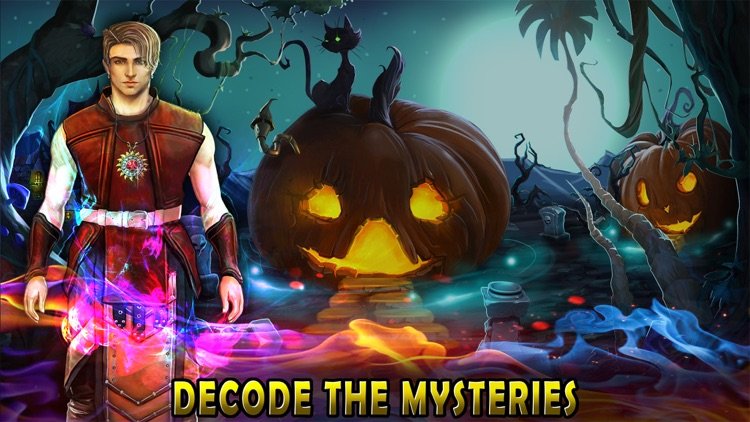 Halloween Escape Dark Fence screenshot-4