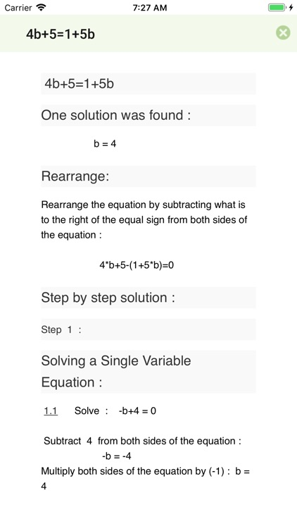 Tiger Algebra Solver screenshot-1