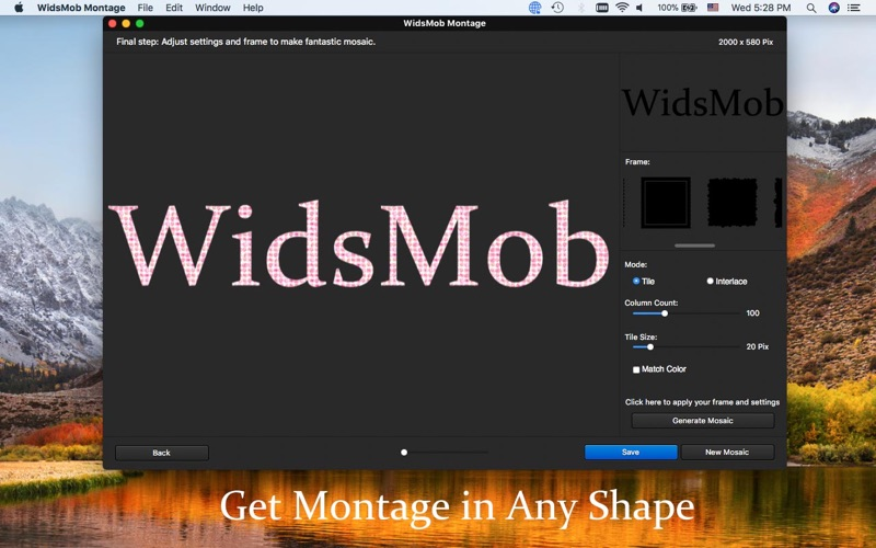 WidsMob Montage-Photo Collage Screenshots