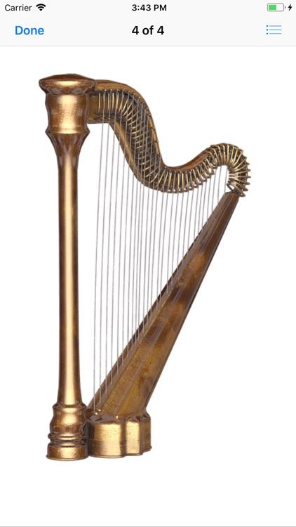 Heavenly Harp Stickers screenshot-4