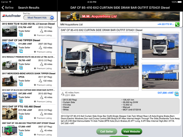 1711dab861  Auto Trader Truck   Farm on the App Store