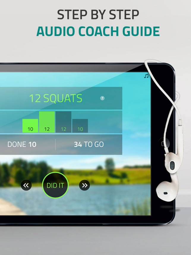 Butt workout: squat challenge Screenshot