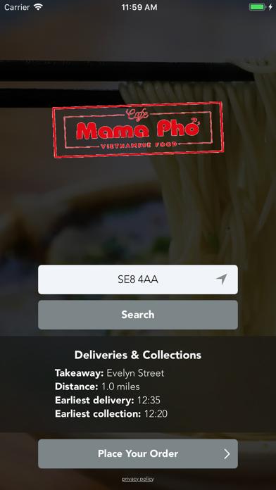 Cafe Mama Pho screenshot one