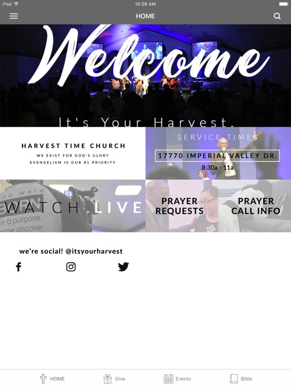 Harvest Time Church screenshot 4