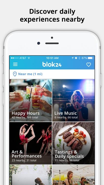Blok24– Experiences around you