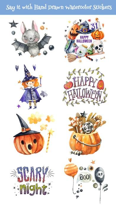 Nice Watercolor Halloween Pack screenshot 3