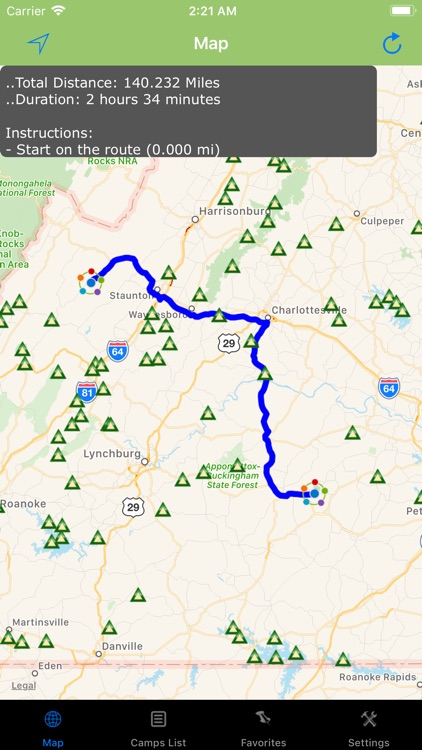 Virginia – Camping & RV spots screenshot-2