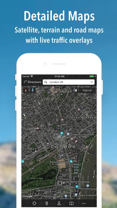 iMaps+ for Google Maps Screenshot