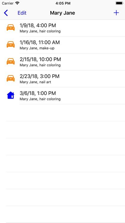 Customer Appointments screenshot-3