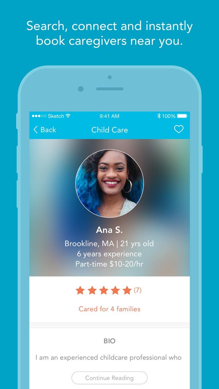 Care.com Screenshot