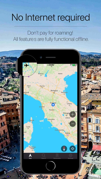 Tuscany Offline Navigation screenshot-0
