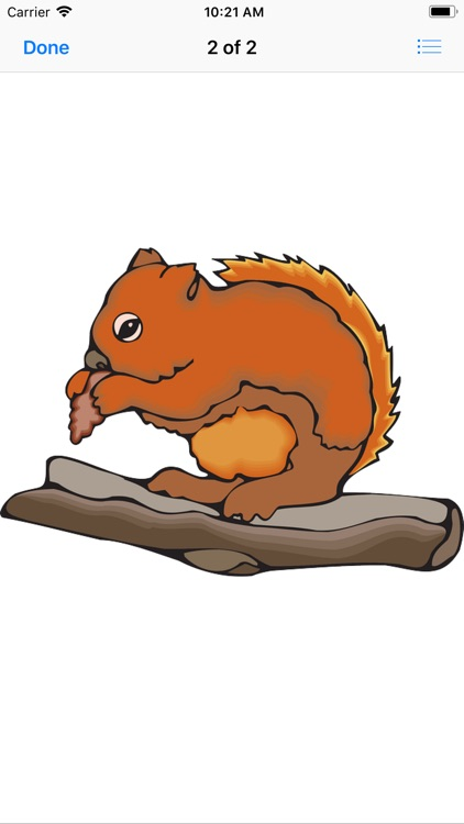 Chipmunk & Squirrel Stickers screenshot-4