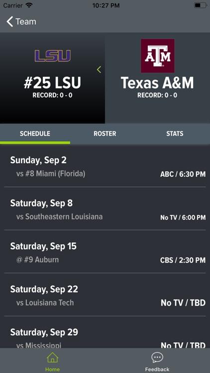 Texas A&M Football screenshot-8