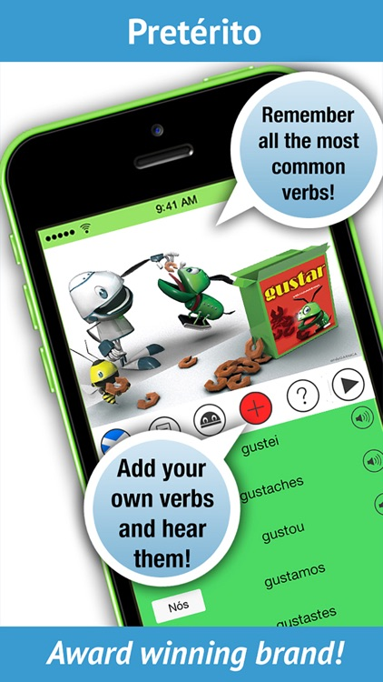 Galician Verbs - LearnBots screenshot-1