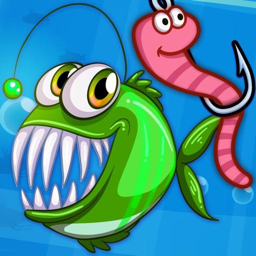 Бешеные рыбы: игры для детей