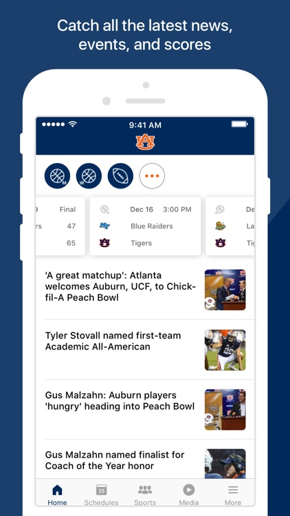 Auburn Athletics screenshot-1