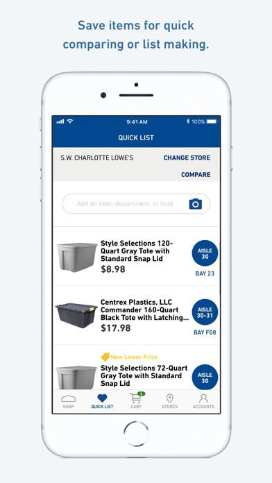 Lowes Home Improvement review screenshots