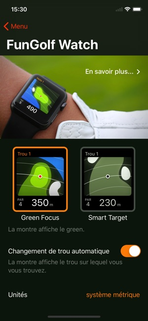 fun golf gps dans l app store. Black Bedroom Furniture Sets. Home Design Ideas