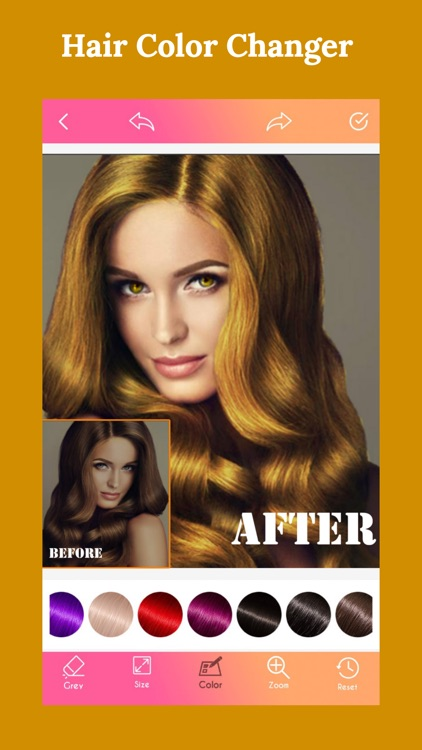 Hair Color Changer New