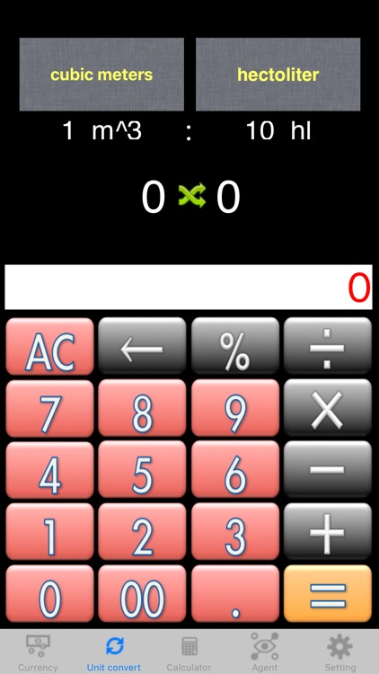 Easy currency and unit converter Lite