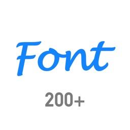 Font Dresser for crystal font
