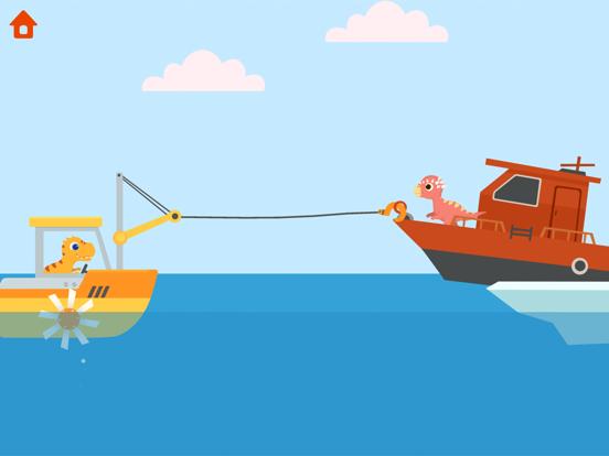 恐竜パトロールボート - 子供向けゲームのおすすめ画像1