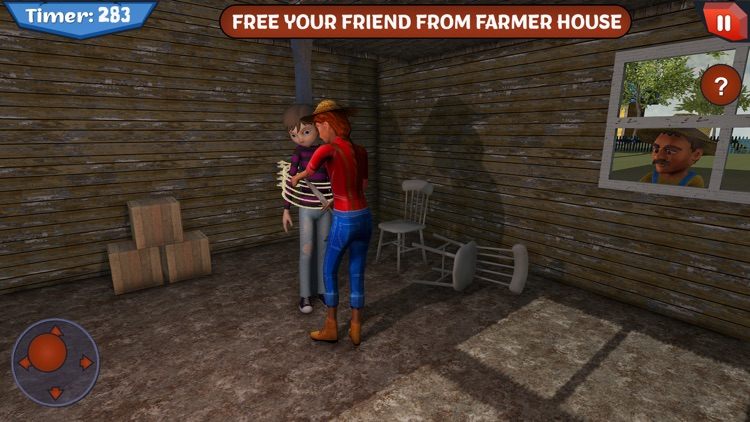 Scary Farmer in Horror House screenshot-4