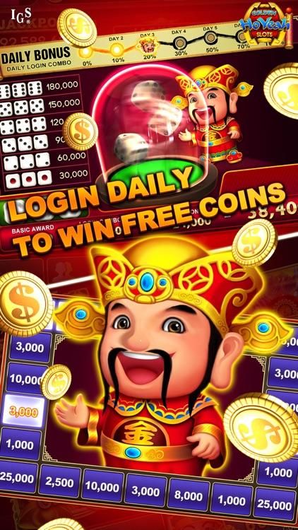 Golden HoYeah Slots - Real Casino Slots screenshot-4