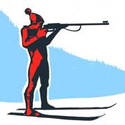Biathlon. Board game