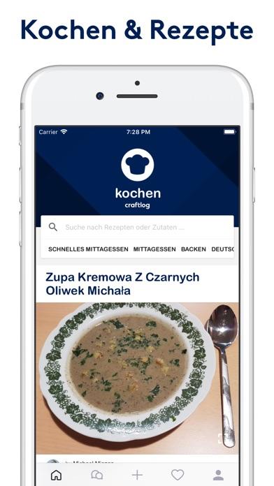 Craftlog Rezepte & KochenScreenshot von 1