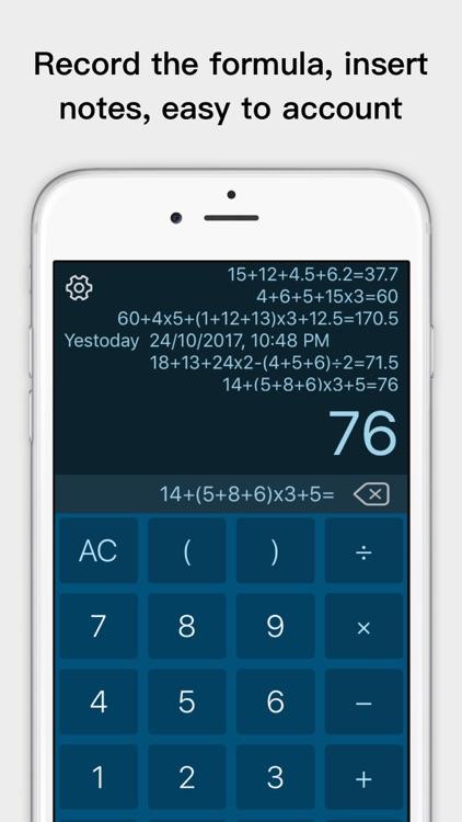 Voice calculator app