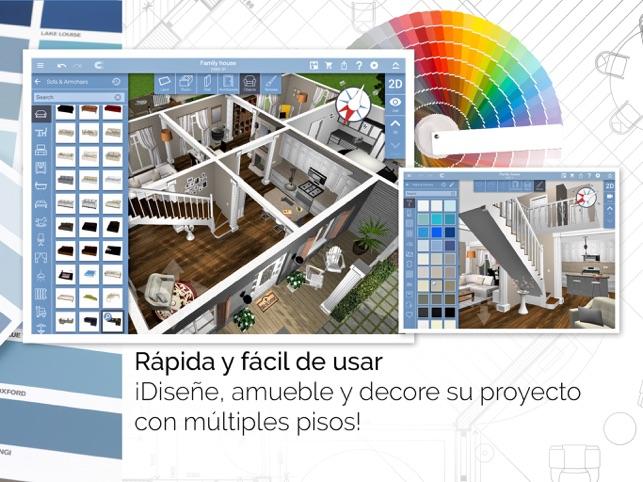 Programa para decorar interiores disear y decorar la casa App decoracion interiores