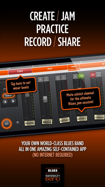 SessionBand Blues 1 screenshot-4