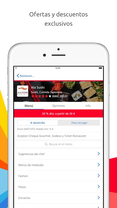 download Just Eat apps 3