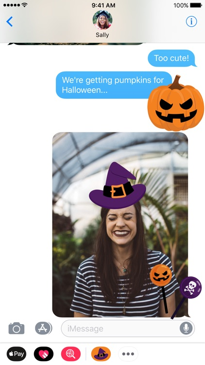 Halloween iMessage Stickers