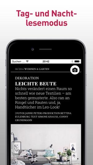 Schöner Wohnen Magazin schöner wohnen magazin im app store