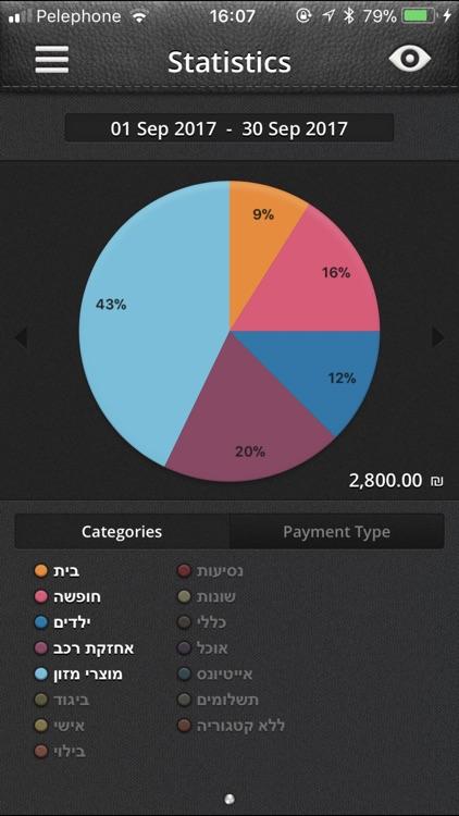 BudgetBook - ניהול תקציב screenshot-3