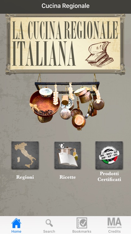La Cucina Regionale Italiana screenshot-0