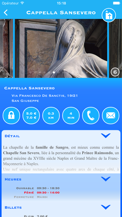 Screenshot #1 pour Naples Tour