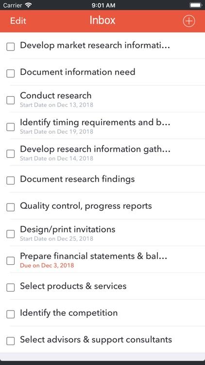GTD Office: Tasks & Calendar screenshot-3