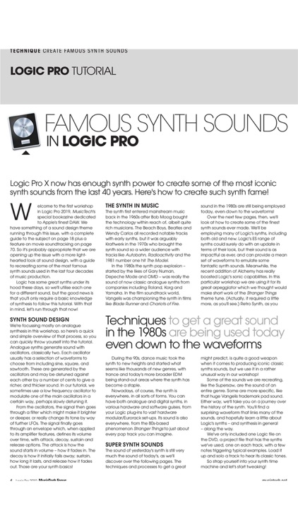 MusicTech Focus Magazine screenshot-4