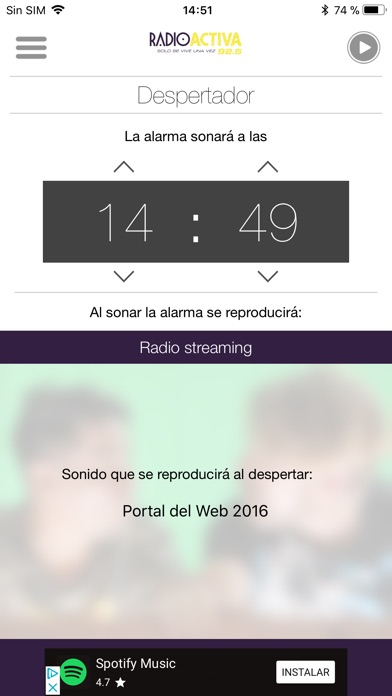 Screenshot for RadioActiva in Chile App Store