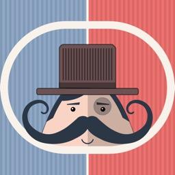 Mr. Mustachio Emoticons!