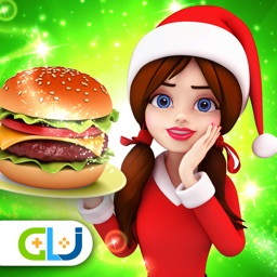 Santa Christmas Cooking Chef