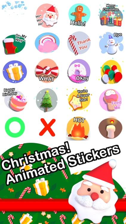 Christmas! Animated Stickers screenshot-0