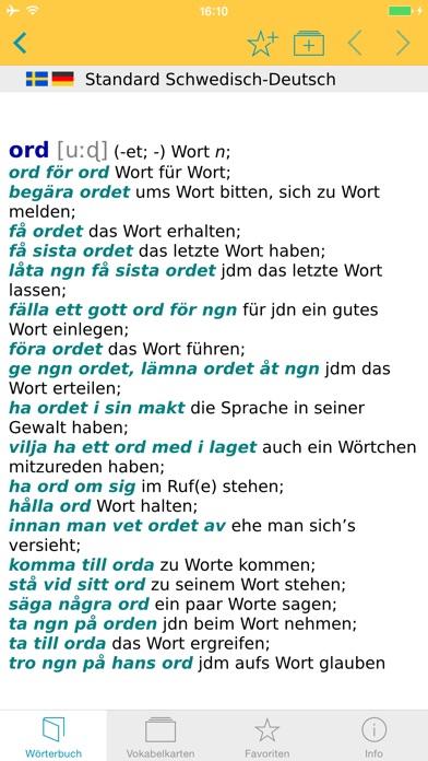 Screenshot for Schwedisch Deutsch Wörterbuch in Japan App Store