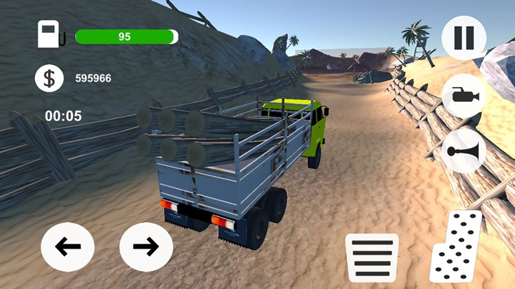 卡车模拟驾驶-城市赛道飞车 screenshot-3