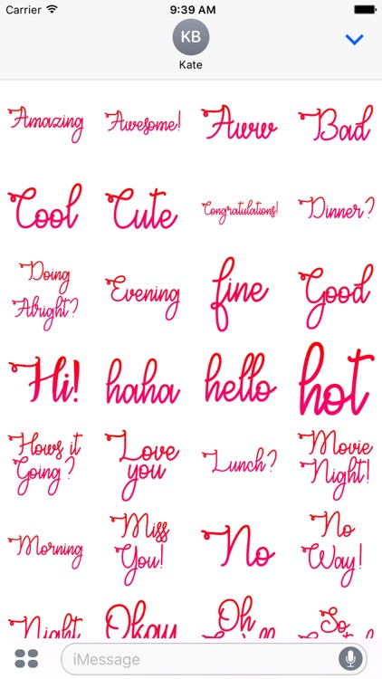 Curves Stickers Pack