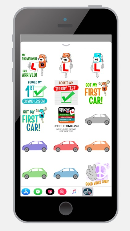 Learn to Drive Sticker Pack